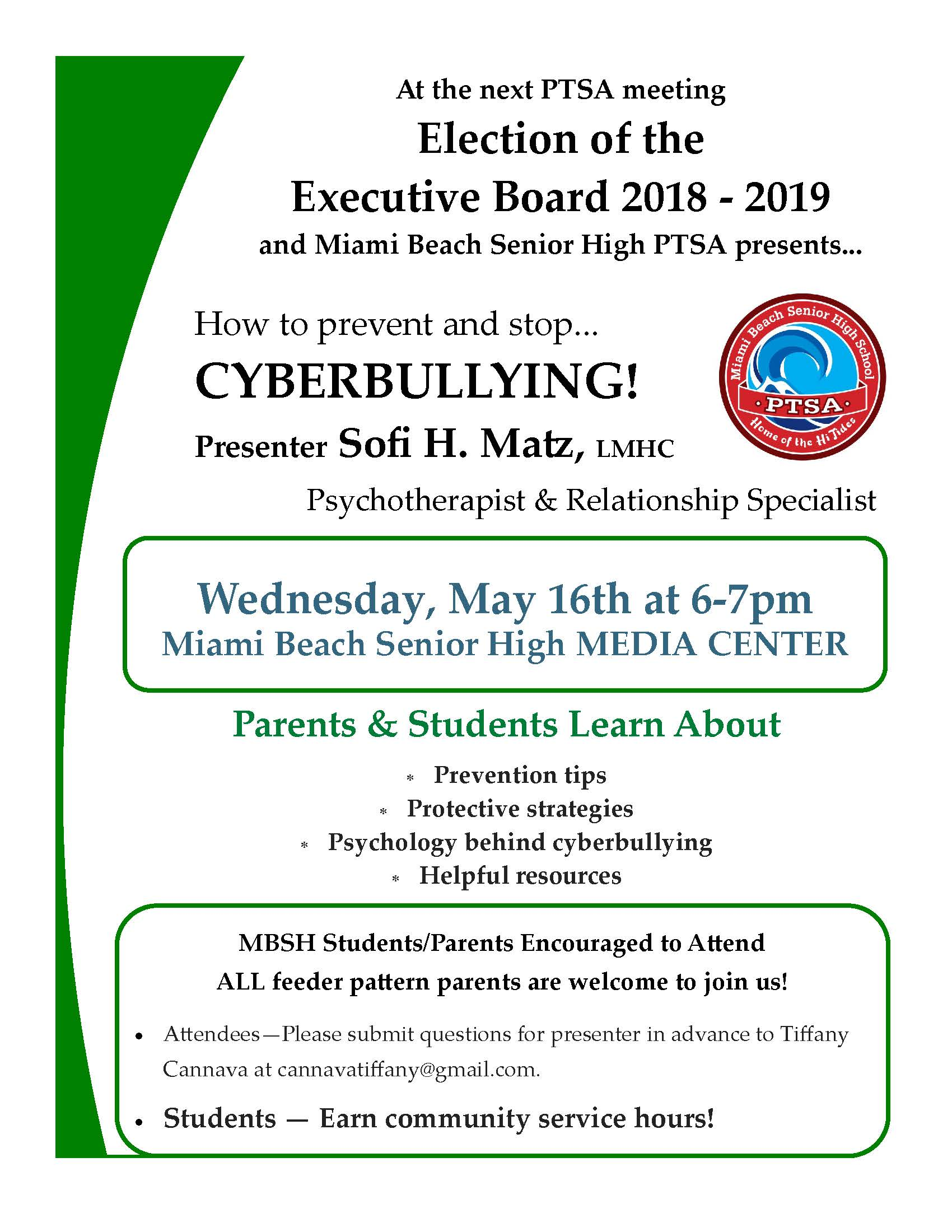 final5.16.18 PTSA flyer meeting